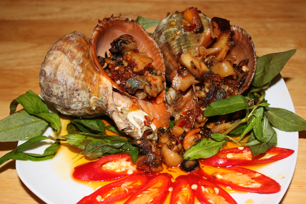 Seafood in Saigon