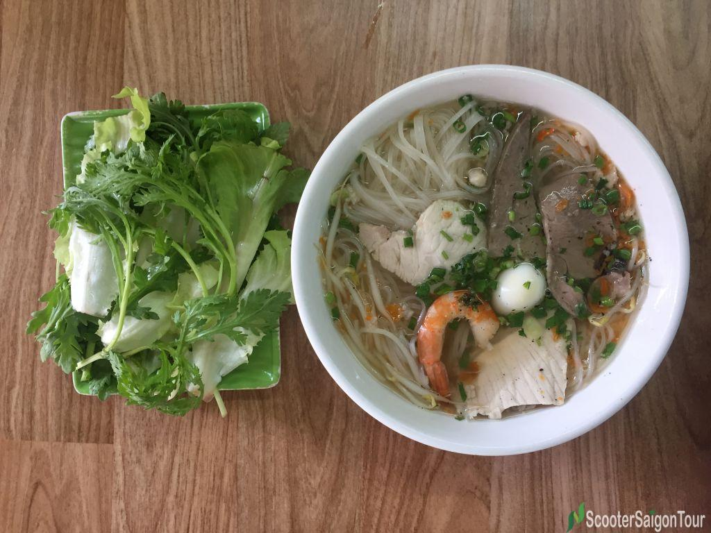 Clear Rice Noodle Soup Or Hu Tieu In Vietnam 2