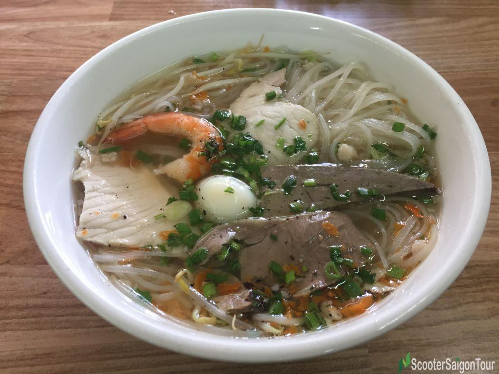 Clear Rice Noodle Soup Or Hu Tieu In Vietnam 3