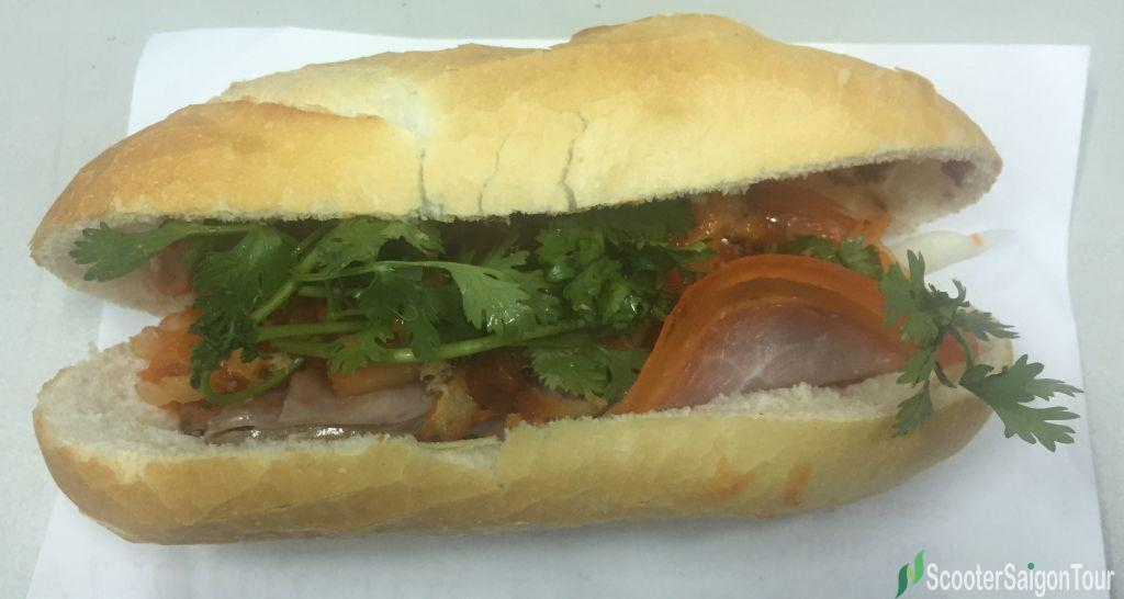 Vietnamese Bread Or Banh Mi