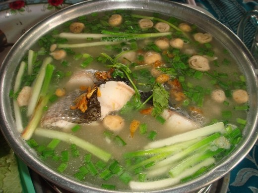 3.Snake fish congee (Chao ca loc)