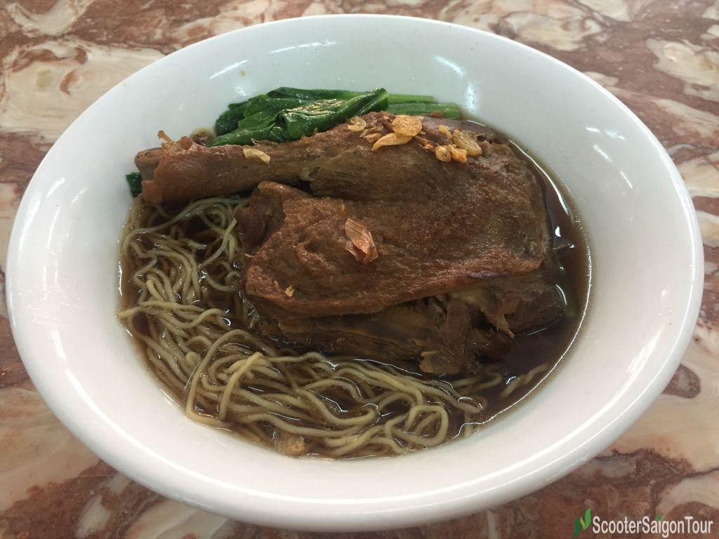 Egg Noodle Soup With Roasted Duck 3