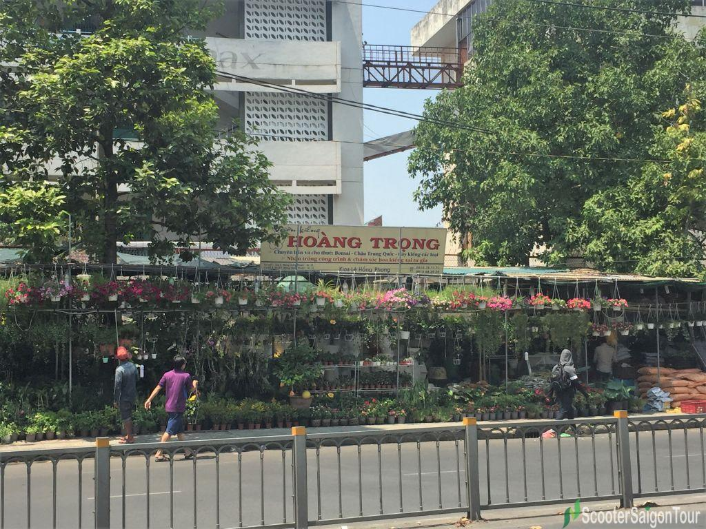 Thanh Thai Plants And Flowers Street In Saigon