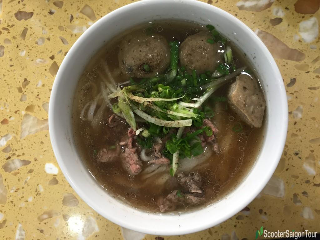 Vietnamese Beef Noodle Soup or Pho at Pho Le restaurant 2 tracy
