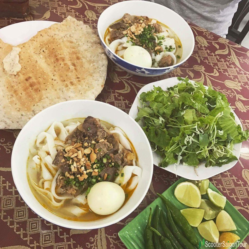 Quang Style Noodle In Vietnam