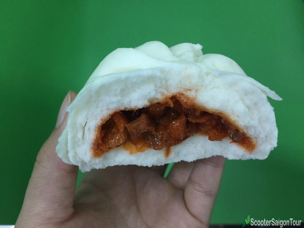 Steamed Wheat Flour With Char Sew