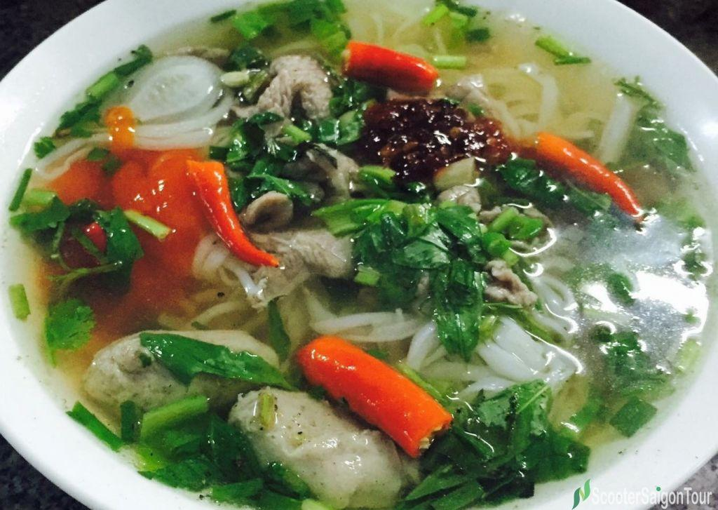 Vietnamese Beef Noodle Soup Or Pho