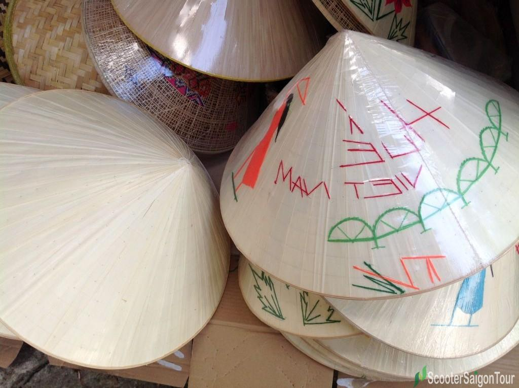 Conical Hat Or Non La In Vietnam Tracy