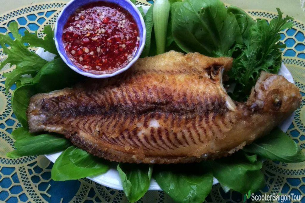 Deep Fried Fish In Vietnam