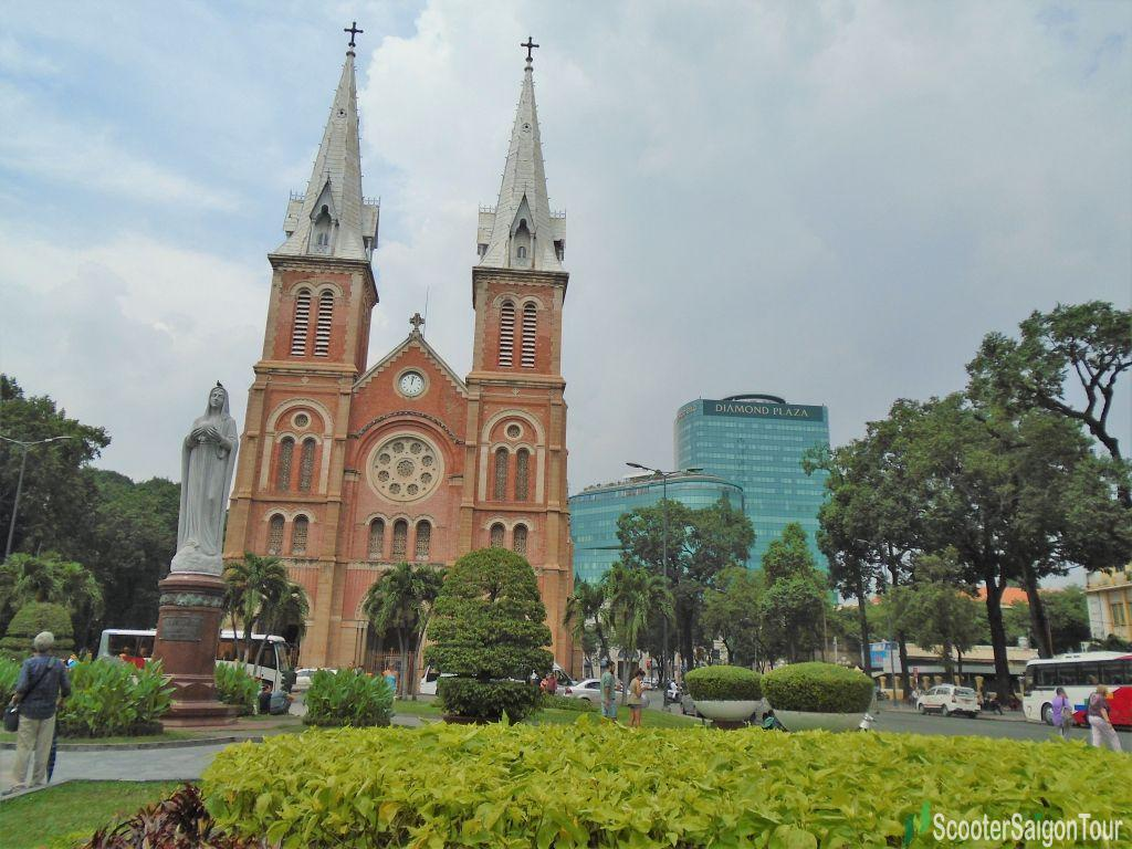 Notre Dame Cathedral In Saigon Tracy