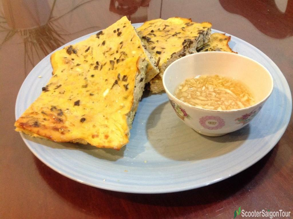 Pork And Egg Pie Or Cha Trung In Vietnam