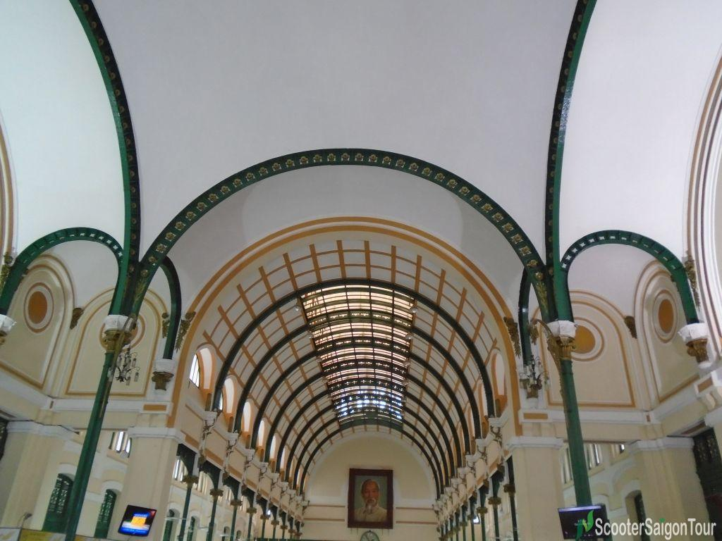 The Ceilings Of Saigon Central Post Office Tracy