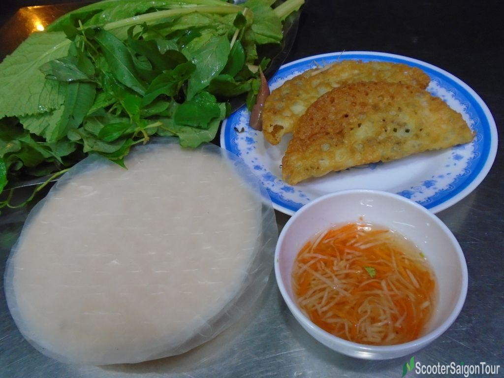 Vietnamese Pancake In Central Style Or Banh Xeo Mien Trung
