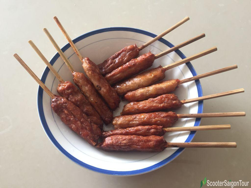 Vietnamese Pork Patties Or Nem Nuong 2