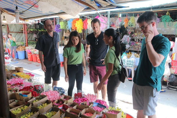 Ho Thi Ky Flower Market Saigon Sightseeing And Food Tour By Motorbike Feature