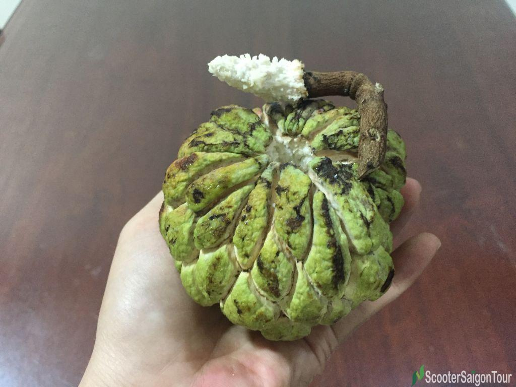 How To Eat Custard Apple Top Fruits In Vietnam 2