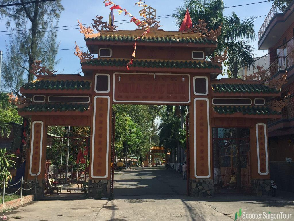 Main Gate Of Giac Lam Pagoda