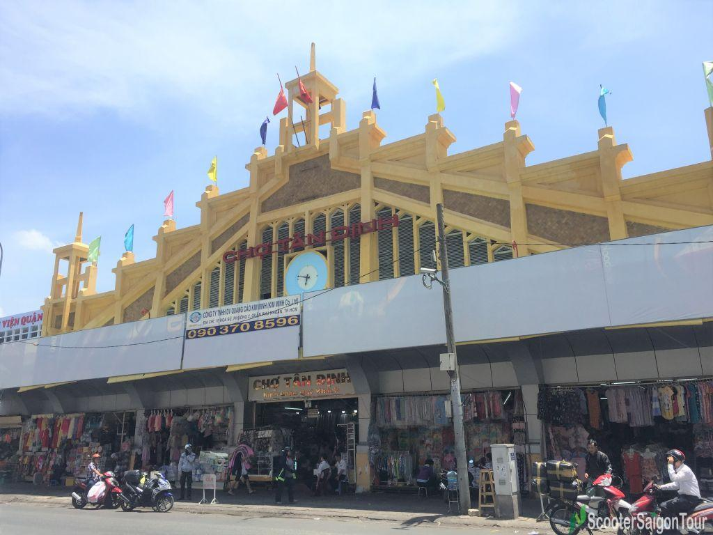 Tan Dinh Market In Saigon