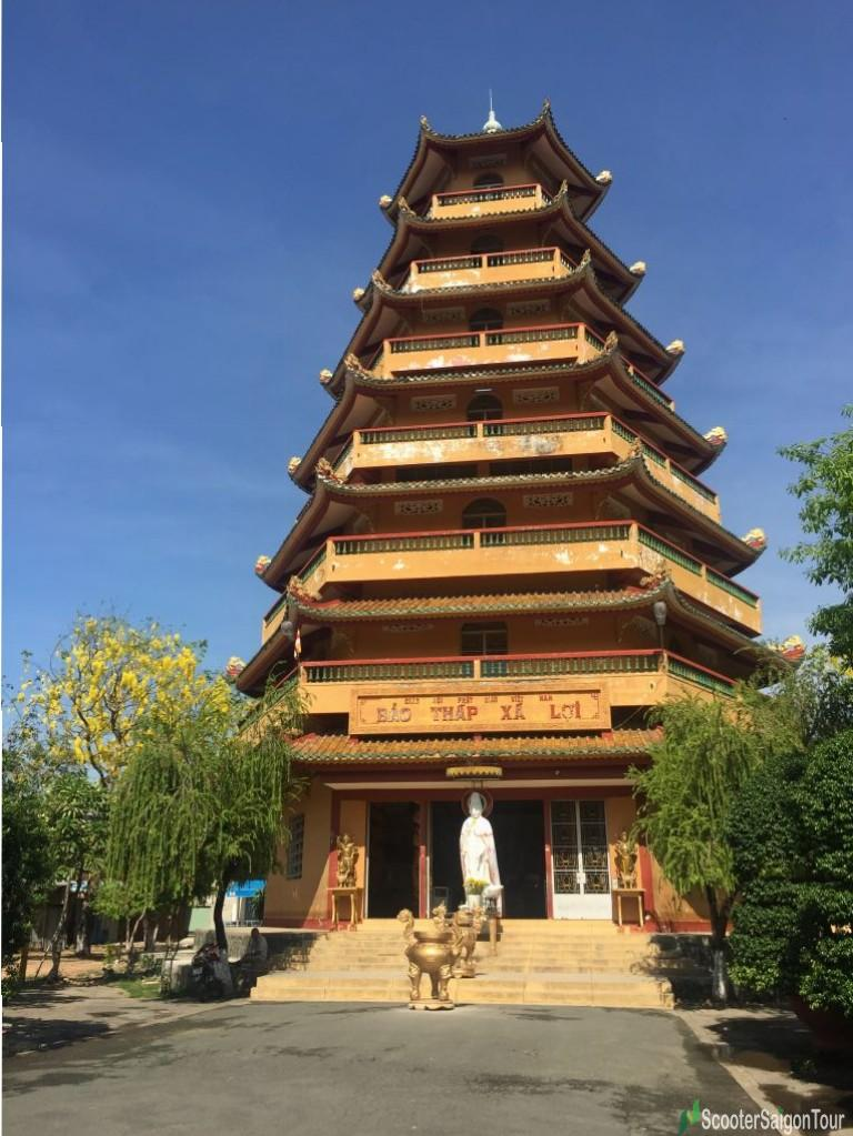 Tower At Giac Lam Pagoda