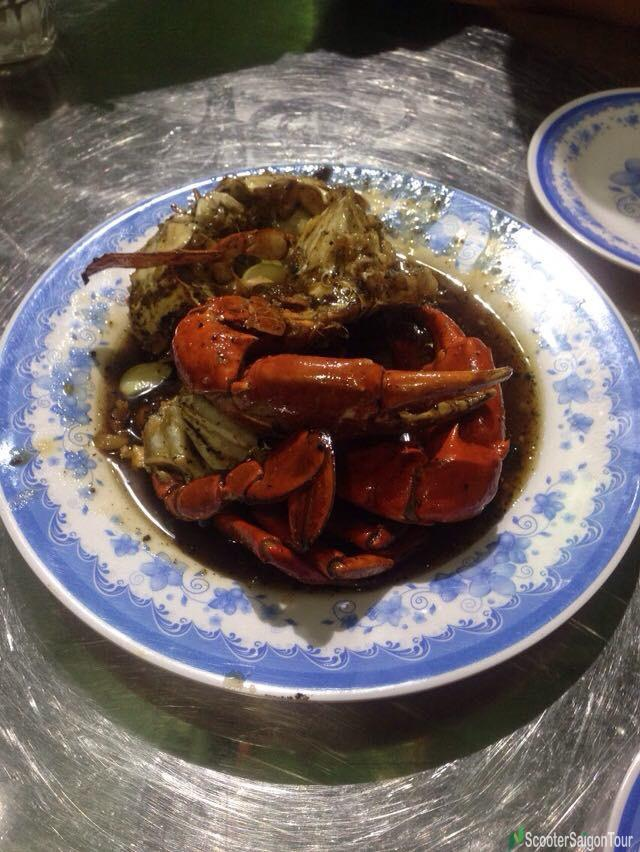 Toasted Crab With Tamarind Sauce In Danang