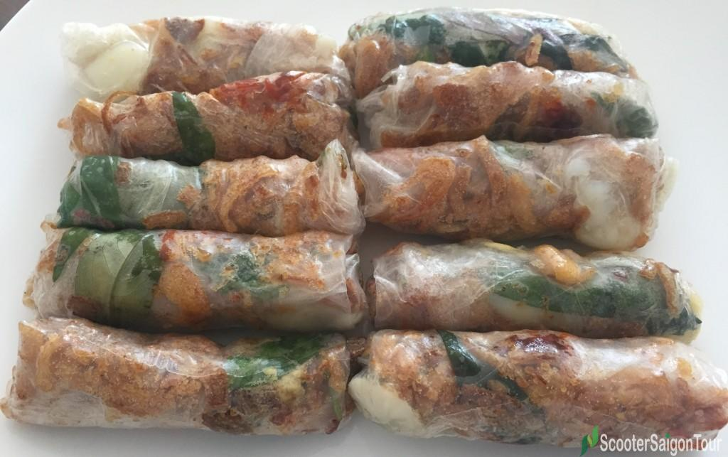 Vietnamese Mixed Dried Food Roll
