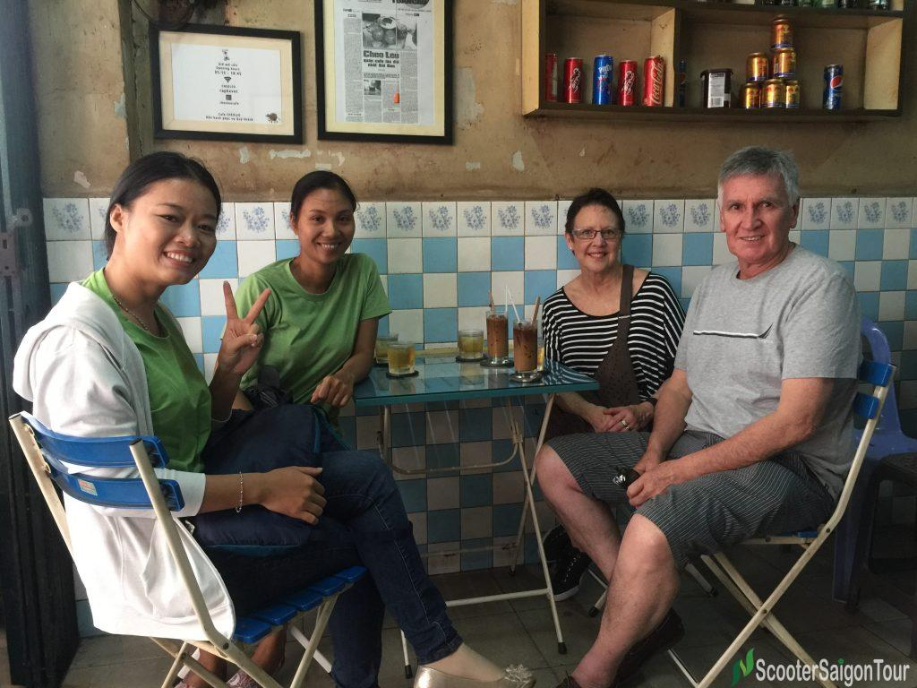 Coffee Vot Saigon Sightseeing Tour