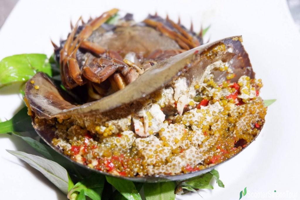 Grilled Tri Spine Horseshoe Crab