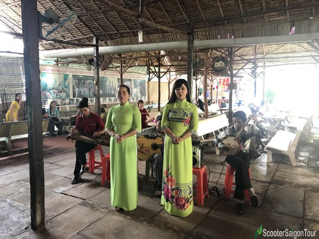 Listening To Vietnamese Folk Song In Mekong Delta