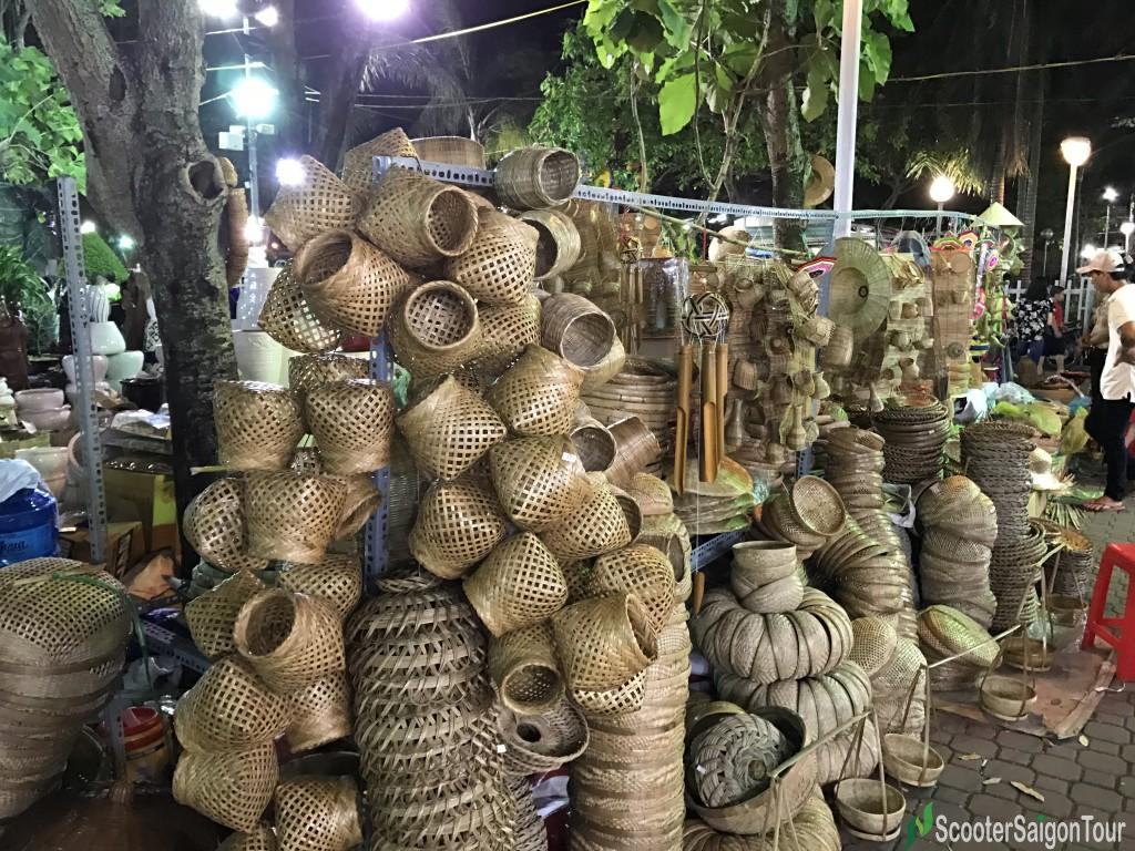 Bamboo Souvenirs In Vietnam