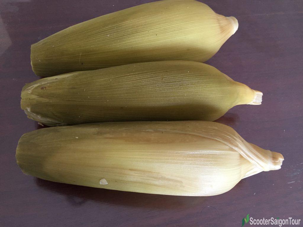 Boiled Corn In Vietnam